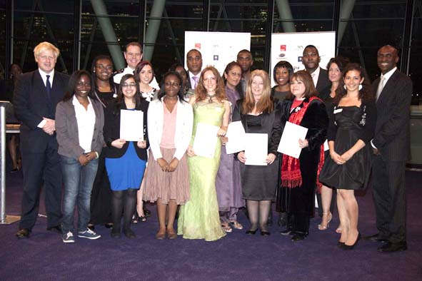 peace awards, Boris Johnson, City Hall, Reverend Nims Obunge, Week of Peace, nominees, whale of a time