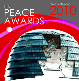 peace awards, Boris Johnson, City Hall, Reverend Nims Obunge, Week of Peace
