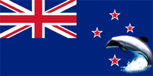 New Zealand Maui Dolphin Flag
