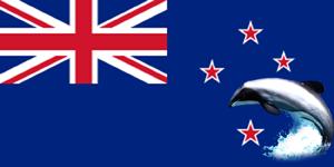 New Zealand Maui Dolphin Flag