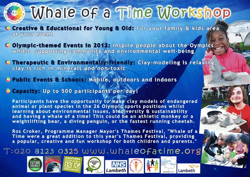 Welcome to Whale Of A Time, United Nations UN, 2010 The Year of Biodiversity