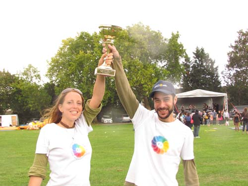 trophy at redbridge carnival