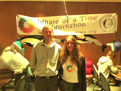 Mark Brownlow, BBC Producer Ocean Giants and Irene Schleining, Founder Whale of a Time